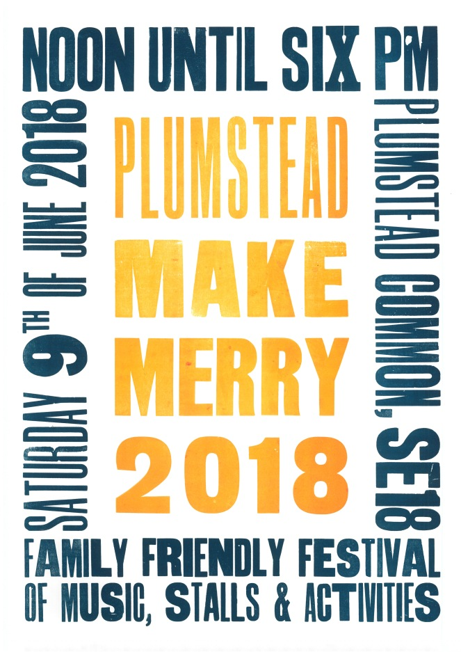 RICHARD MCDONALD DESIGN Plumstead Make Merry 2018 Colour